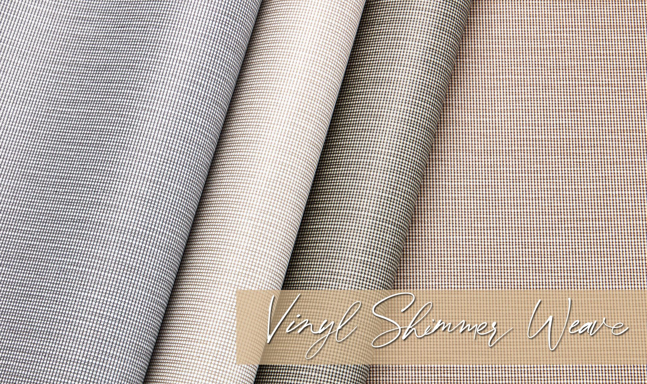 Vinyl Shimmer Weave